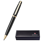 Smooth Writing With Glossy Black Featuring Gold Tone Trim Pen From Sheaffer to Pattukottai