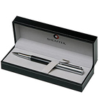 Carbon Fiber Barrel Chrome Cap Rollerball Pen from Sheaffer to Banka