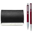 Dazzling Visiting Card Holder with Parker Pen Set to Amalampuram