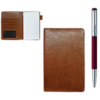 Charismatic Passport Holder with Parker Jotter Ball Pen Set to Amargol