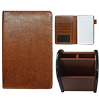 Stylish Gift Set of Multipurpose Passport Holder with Pen Stand to Amalampuram