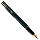 Impeccable Parker Frontier Matte Black Fountain Pen to Varanasi