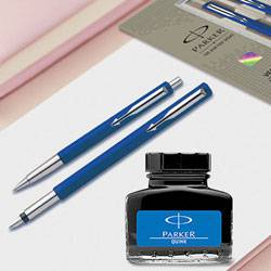 Exclusive Parker Pen n Ink Set to Ambalamugal
