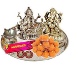 Silver Laxmi Puja Hamper to Ambernath