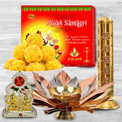 Marvelous Puja Gift Hamper to Agroli