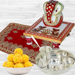 Amazing Puja Gift Hamper<br> to Agroli