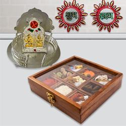 Exquisite Pooja Gift Combo to Adoni