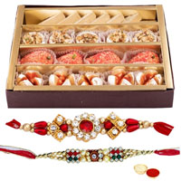 Haldirams Assorted Sweets N Rakhi to Cochin