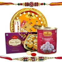 Thali Hamper N Haldirams Sweets to Bangalore