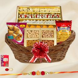 Tasty Rakhi Hamper with Fabulous Food to Bangalore