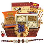 Exclusive Rakhi Hamper of Delectable Delicacies to Bangalore