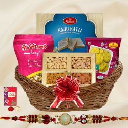 Tasty Tidbit Rakhi Hamper to Bangalore