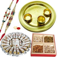 Special Gold Plated Thali Hamper1 to Tirunelveli