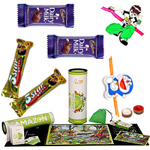 Elegant Madzzle Worldopedia Animal Kingdom from MadRat Games with 2Pcs Fancy Rakhi with Chocolates to Bangalore