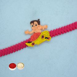 Chota Bheem Rakhi for your Brother and Roli Tilak Chawal to Cochin