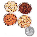 Dry Fruits in Silver Bowls to Gurgaon