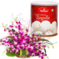 Orchid N Rasgulla.  to Hyderabad