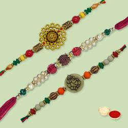 Ethnic Rakhi Thread to Nakoda