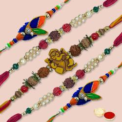 Excelent Rakhi Thread Set to Nakoda
