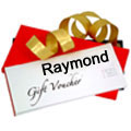 Excellent Raymonds Gift Voucher worth Rs. 1000 to Gurgaon