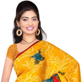 Dazzling Women�s Favourite Georgette Saree from Suredeal to Thiruvananthapuram