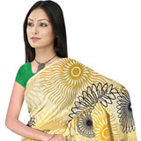 Glamorous Suredeal Georgette Fabric Printed Saree for Women to Bangalore