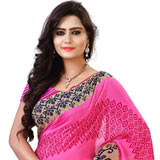 Illuminating Dani Georgette Saree to Purulia