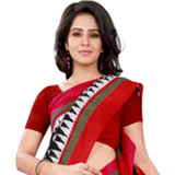 Enticing and Plaid Bhagalpuri Silk Saree to Cochin