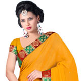 Trendy Chiffon Saree to Purulia