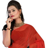 Wonderful Faux Georgette Saree to Purulia