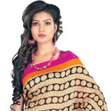 Voguish Radiance Bhagalpuri Silk Saree to Bangalore