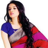 Exclusive Eclat Bhagalpuri Silk Saree to Nashik