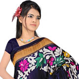 Exotic Art Silk Printed Saree to Nagpur