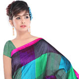 Trendsetting Art Silk Printed Saree to Hyderabad