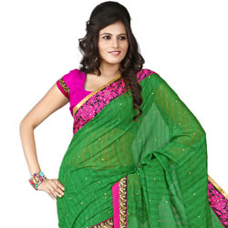 Nitid Verve Silk Saree to Tirunelveli
