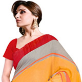 Shimmering Merriment Silk Saree to Purulia