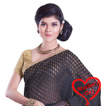 Soothing Distinctiveness Net Chanderi Saree to Kolkata