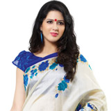 Elegant Sheen Cotton Silk Saree to Purulia