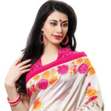 Beaming Finery Cotton Silk Saree to Cochin