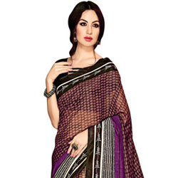 Majestic Handloom Art Silk Saree to Athani