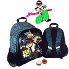 Ben 10 School Bag for Boys with Ben 10 Rakhi and Roli Tilak Chawal to Ariyalur