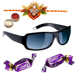 Chic Unisex Sunglasses in Black shades from <b>Fastrack</b> with Chocolate to Cochin
