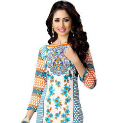 Exclusive Colourful Suredael Designer Printed Cotton Suit to Jaipur