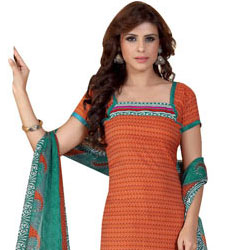 Stylish Crepe N Chiffon Fabric Printed Salwar Suit from Siya to Agra