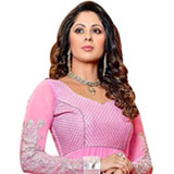 Classy Pure Georgette Printed Salwar in Classy Pink Colour to Bihar