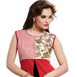 Stylish Women�s Favourite Cotton Fabric Printed Suit to Gurgaon