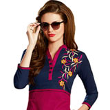 Extravagant Selection of Cotton Fabric Designer Printed Suit to Ghaziabad