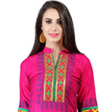 Trendsetting Embroidered Cotton Kurti to Nashik