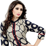Translucent Cotton Printed Kurti to Mysore