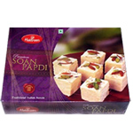 Soan Papdi 500 Gms from Haldiram <br><Font color=FF6600> </font>
